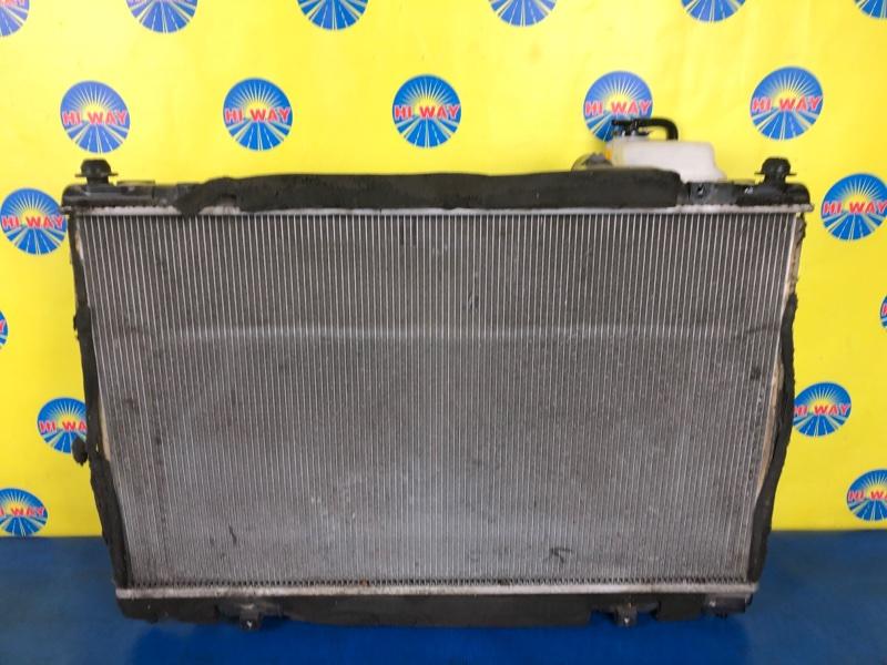 Радиатор двс Toyota Crown GWS204 2GRFSE
