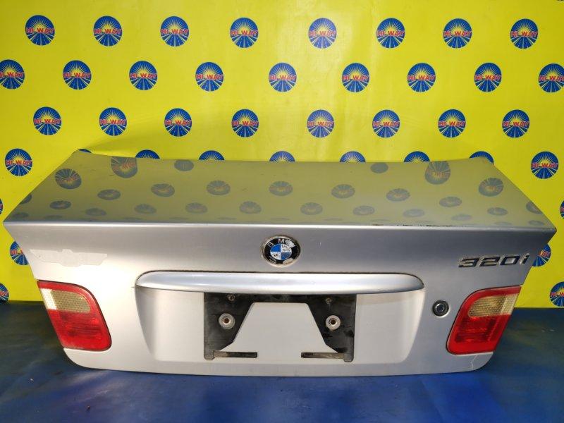 Крышка багажника Bmw 320I E46 M52B20 1997