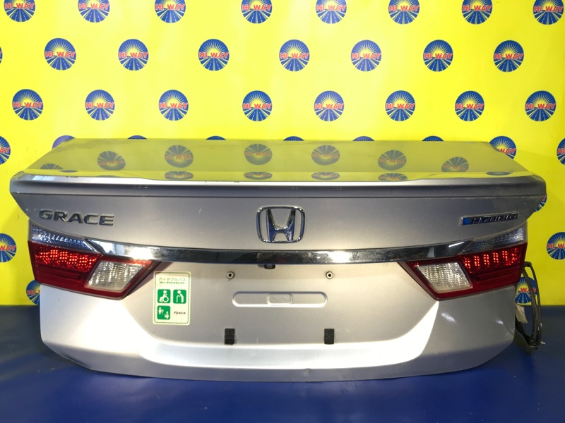 Крышка багажника Honda Grace GM4 L15B 2014