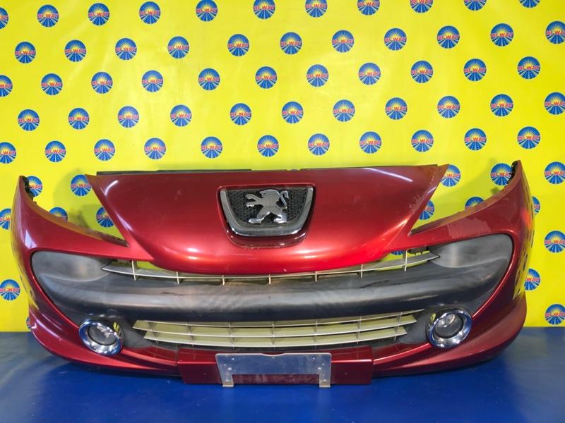 Бампер Peugeot 207 WA EP6 2007 передний