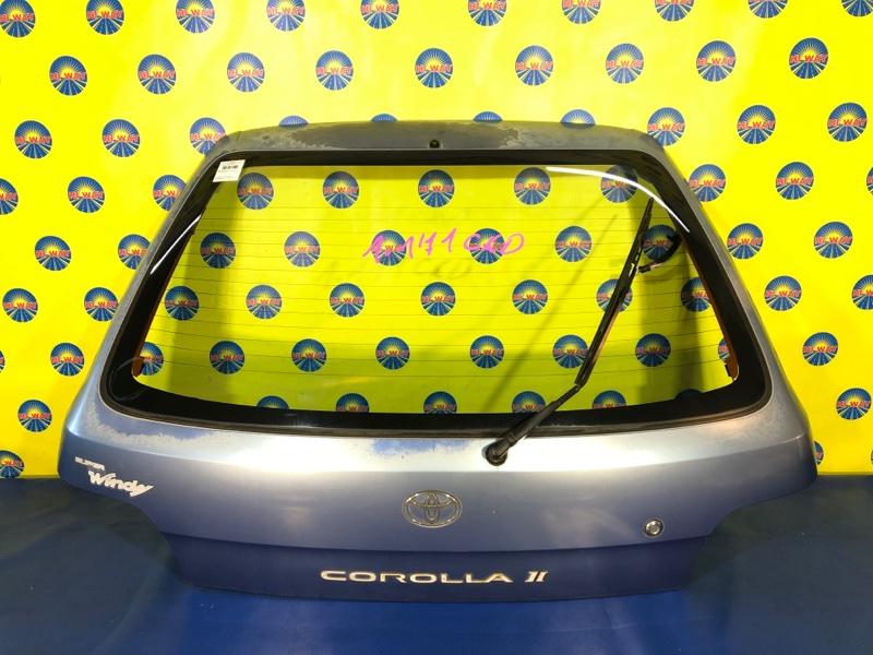 Дверь задняя Toyota Corolla Ii EL51 4E-FE 1994 задняя