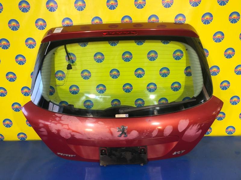 Дверь задняя Peugeot 207 WC EP6 2006 задняя