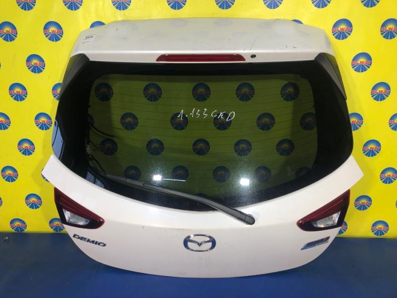 Дверь задняя Mazda Demio DJ5FS S5-DPTS 09.2014