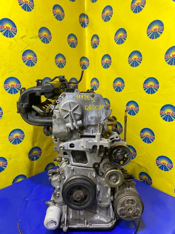 Двигатель Nissan Serena TC24 QR20DE 1999