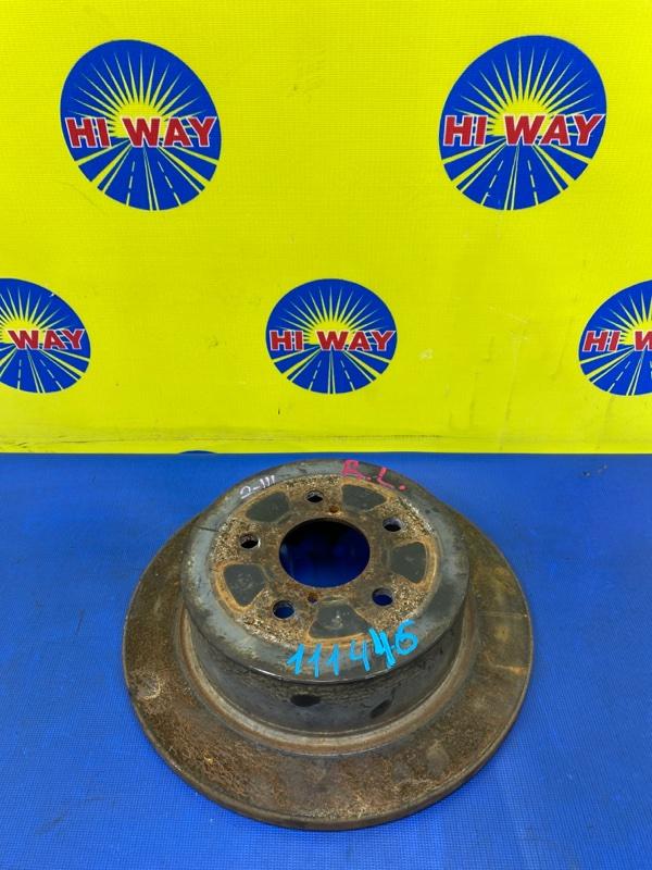 Диск тормозной Subaru Legacy BL5 EJ203 2003 задний