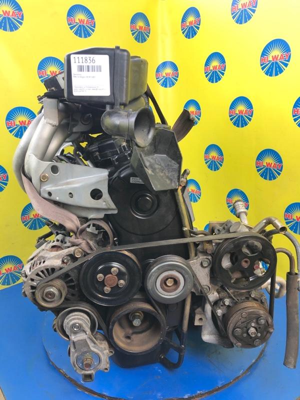Двигатель Mmc Ek Wagon H81W 3G83