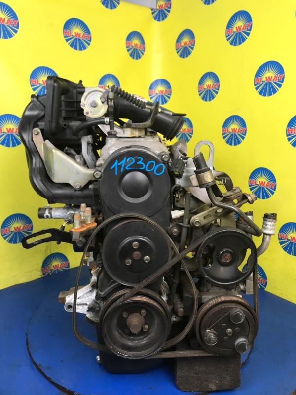 Двигатель Mazda Demio DW3W B3E
