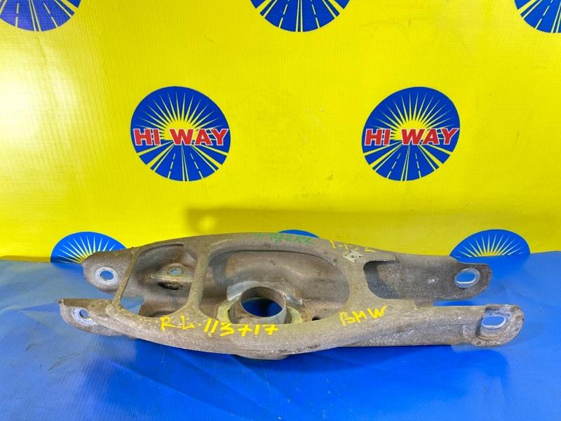 Рычаг подвески Bmw 116I E87 N45B16A 2007 задний левый нижний
