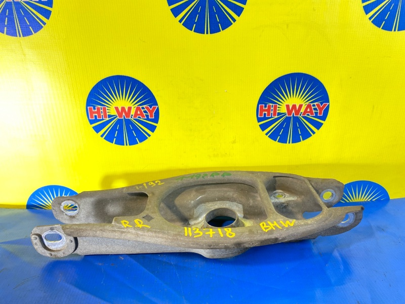 Рычаг подвески Bmw 116I E87 N45B16A 2007 задний правый нижний