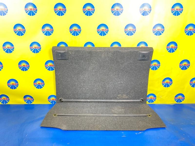 Пол багажника Bmw 116I E87 N45B16A 2007
