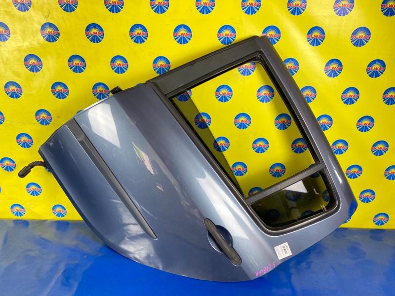 Дверь боковая Renault Clio BR0B K4M801 2005 задняя левая