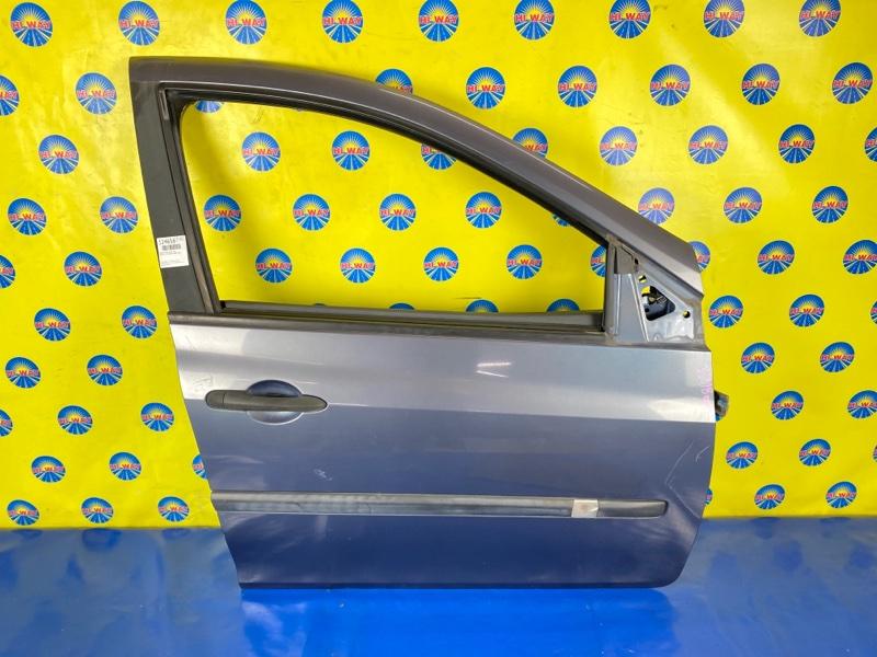 Дверь боковая Renault Clio BR0B K4M801 2005 передняя правая