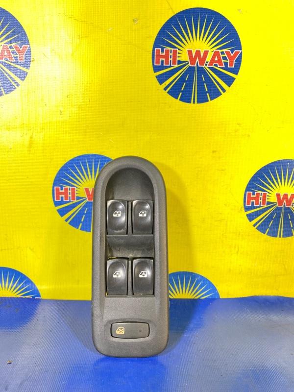 Блок управления стеклоподъемниками Renault Clio BR02 K4M801 05.2005