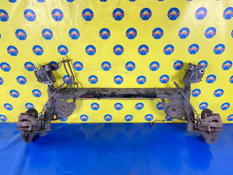 Балка поперечная Renault Clio BR02 K4M801 05.2005 задняя