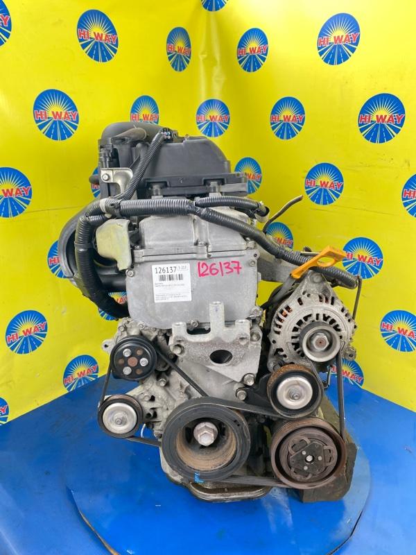 Двигатель Mazda Familia VAY12 CR12DE 2008
