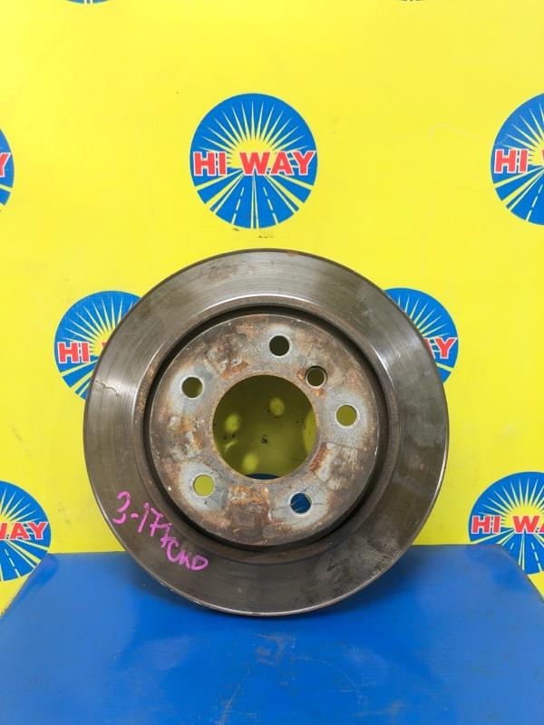 Диск тормозной Bmw Z4 E85 N52B30AF 2006 задний