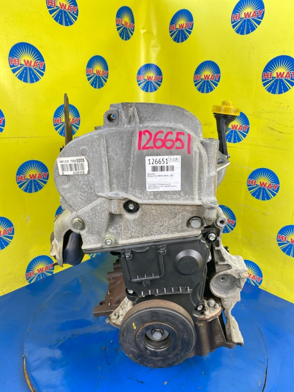 Двигатель Renault Clio BR0B K4M801 2006