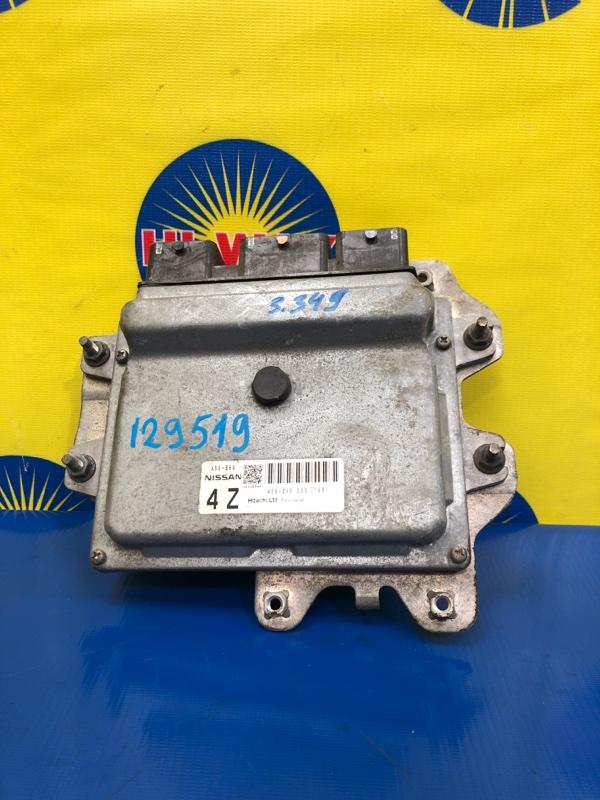 Компьютер двс Nissan Tiida Latio SC11 HR15DE 2004