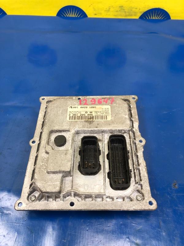 Блок управления двс Smart Fortwo W450 M160920 2003