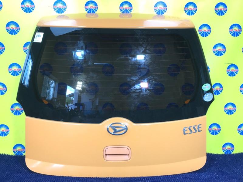 Дверь задняя Daihatsu Esse L235S 2005