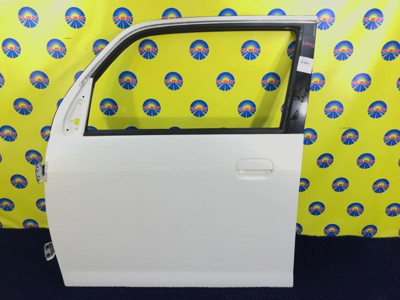 Дверь боковая Daihatsu Mira Gino L650S 2005 передняя левая