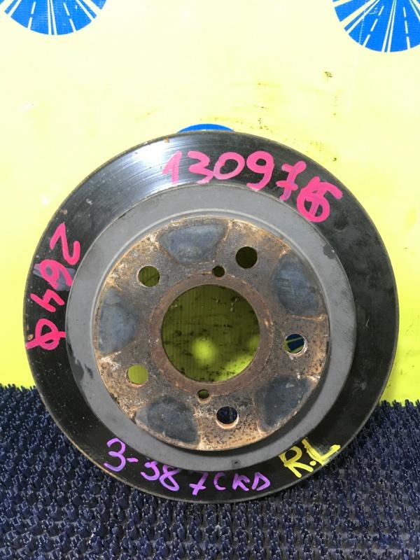 Диск тормозной Subaru Forester SG5 EJ205 2002 задний
