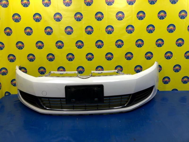 Бампер Volkswagen Golf 5K1 CBZA 2008 передний