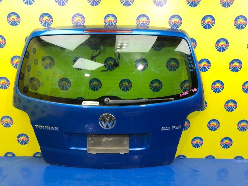 Дверь задняя Volkswagen Touran 1T1 BGU 2003 задняя