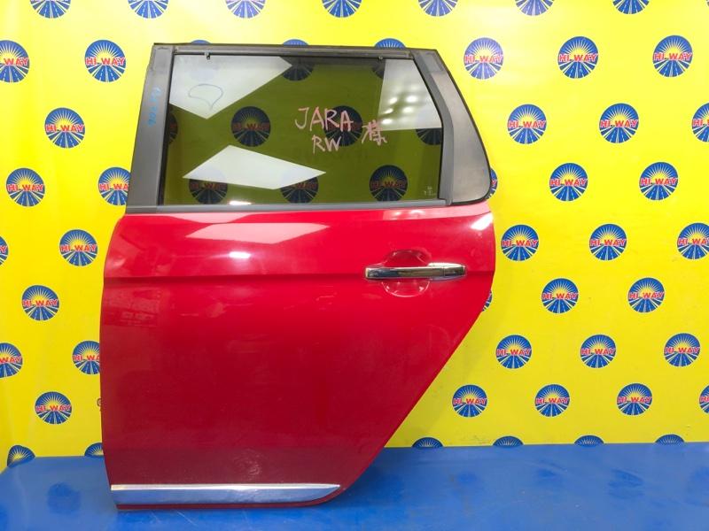 Дверь боковая Honda N-One JG1 S07A 2012 задняя левая