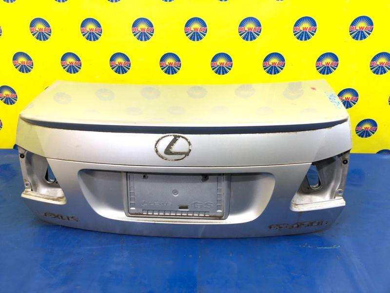 Крышка багажника Lexus Gs450H GWS191 2GR-FSE 2006 задняя