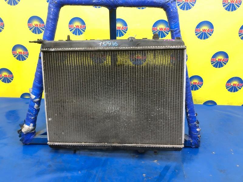 Радиатор двс Peugeot 206