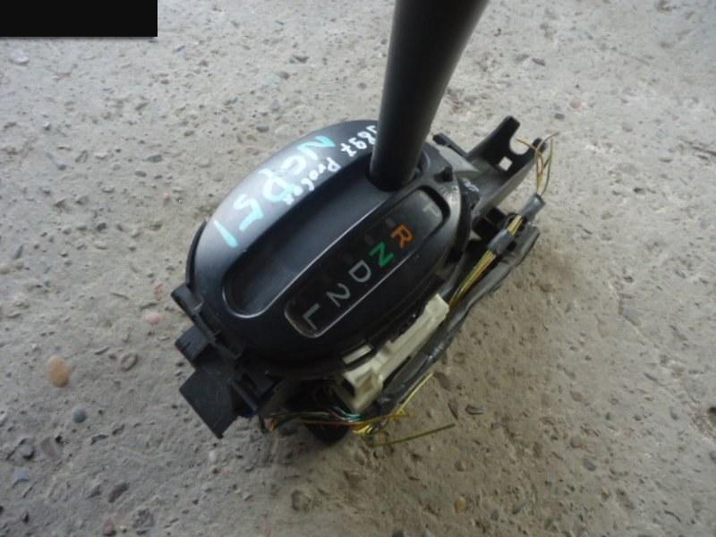 Рычаг переключения кпп (селектор) Toyota Probox NCP51V 1NZ-FE