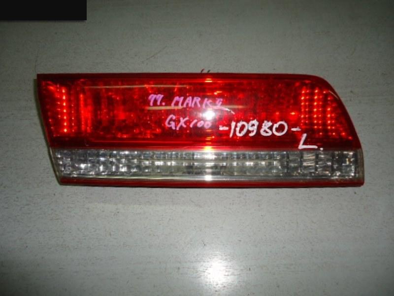 Фонарь (вставка багажника) Toyota Mark Ii GX100 1G-FE задний левый