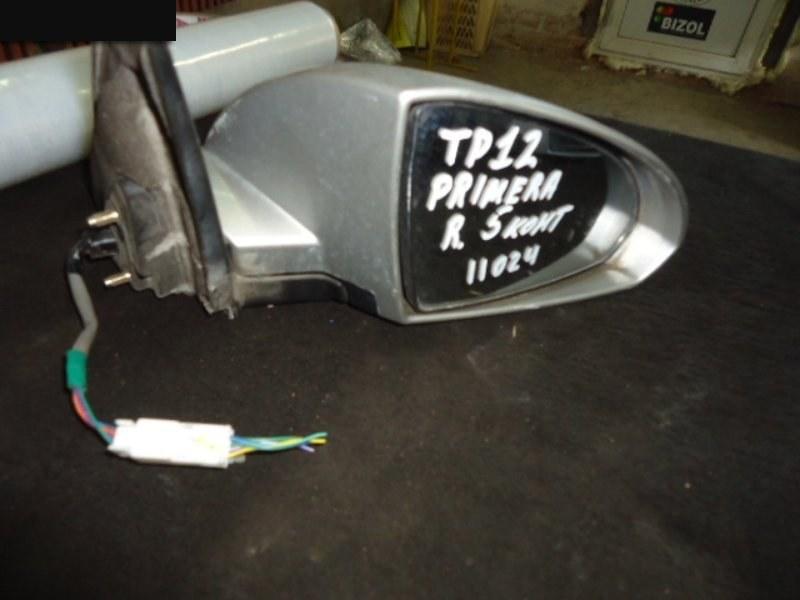Зеркало боковое Nissan Primera TP12 QR20DE правое