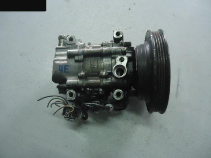 Компрессор кондиционера Toyota Corsa EL51 4E-FE