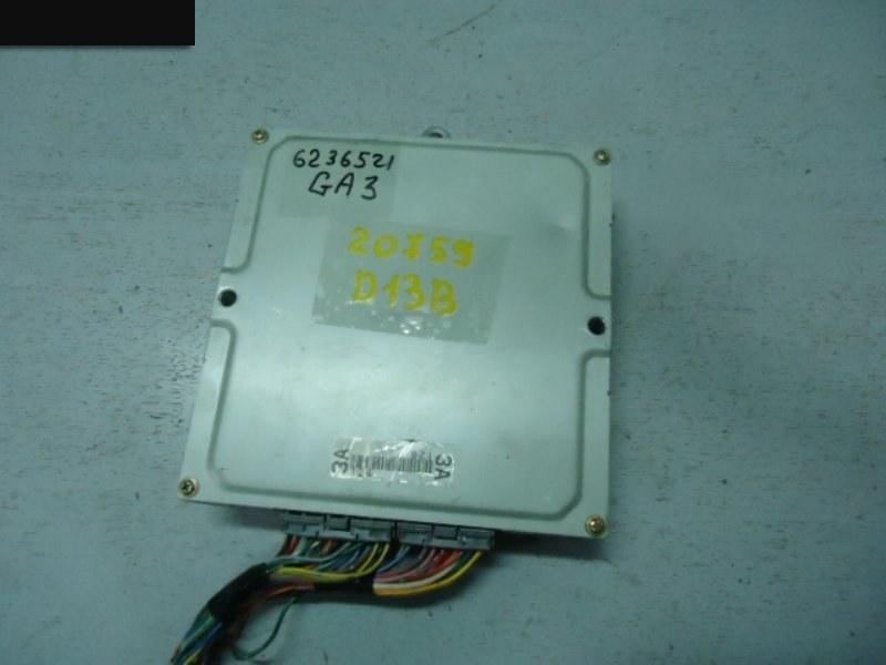 Компьютер (блок управления) Honda Logo GA3 D13B