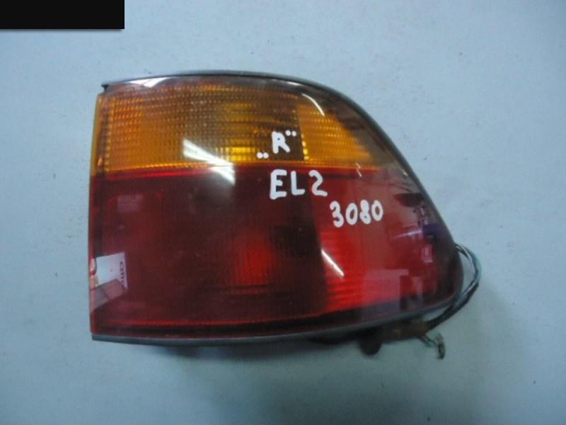 Фонарь (стоп-сигнал) Honda Orthia EL2 B20B задний правый