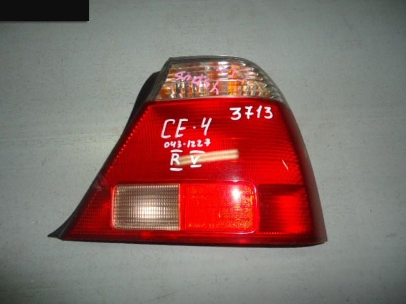 Фонарь (стоп-сигнал) Honda Ascot CE4 G20A задний правый
