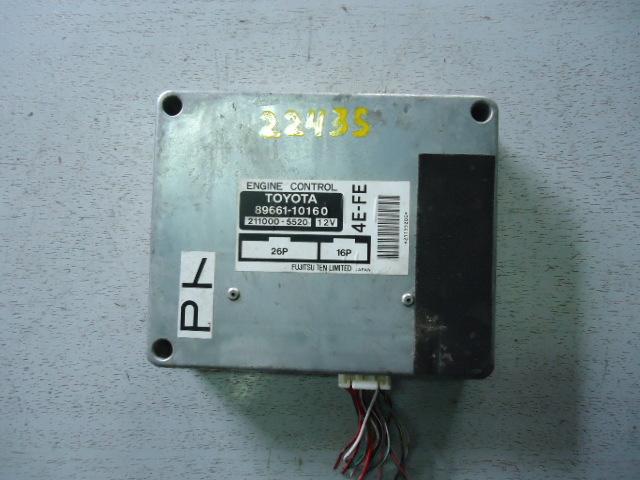Компьютер (блок управления) Toyota Starlet EP91 4E-FE