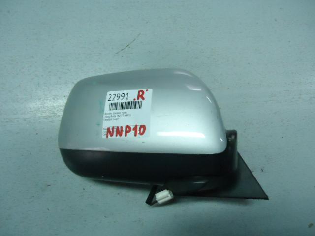 Зеркало боковое Toyota Porte NNP10 2NZ-FE правое