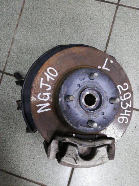 Ступица Toyota Iq NGJ10 1NR-FE передняя левая
