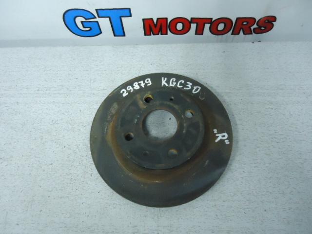 Диск тормозной Toyota Passo KGC30 1KR-FE передний правый