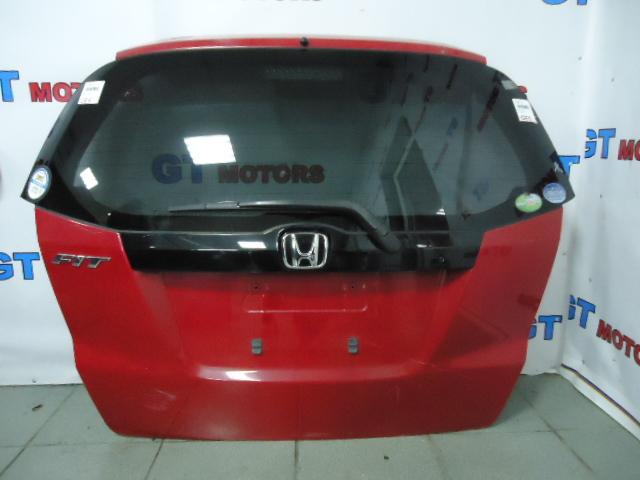Дверь задняя багажника Honda Fit GE6 L13A