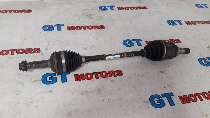 Привод Toyota Iq KGJ10 1KR-FE передний левый