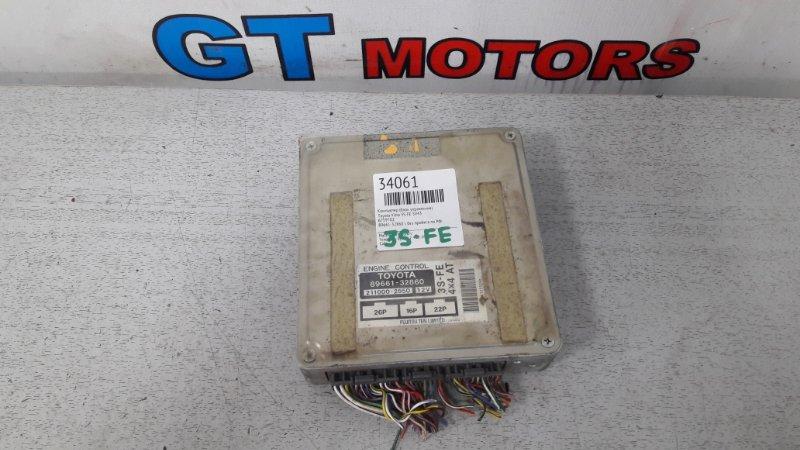 Компьютер (блок управления) Toyota Vista SV43 3S-FE