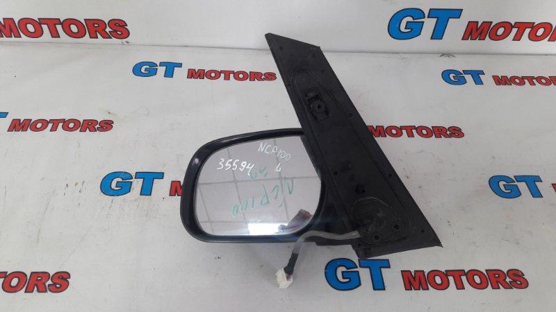 Зеркало боковое Toyota Ractis NCP100 1NZ-FE левое