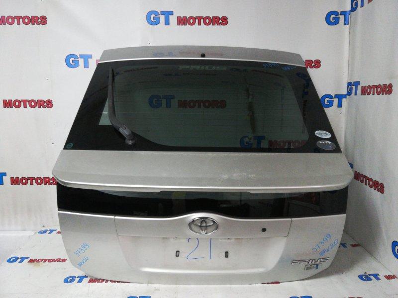 Дверь задняя багажника Toyota Prius NHW20 1NZ-FXE 2005