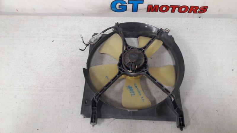 Вентилятор радиатора двигателя Toyota Carina AT211 7A-FE 2000 левый
