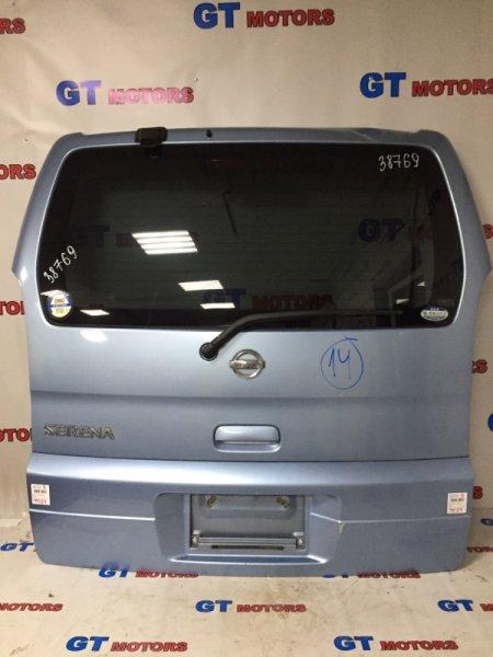 Дверь задняя багажника Nissan Serena TC24 QR20DE 2002 задняя