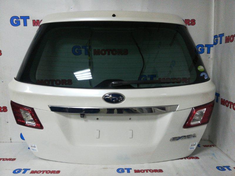 Дверь задняя багажника Subaru Exiga YA4 EJ20 2002 задняя